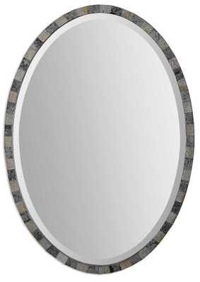 PAREDES OVAL MIRROR - Hudsonhill Foundry