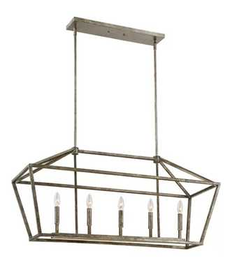 Freemont 5-Light Kitchen Island Pendant - Vintage Gold - Wayfair