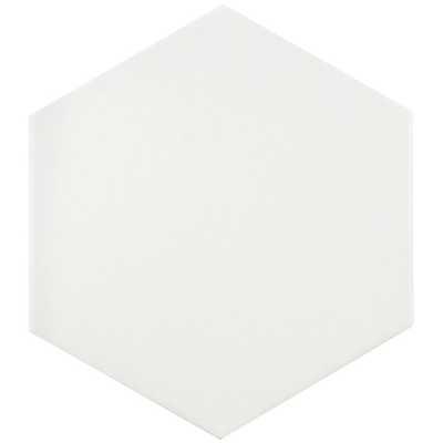 "Tessile Hex 9"" x 10"" Porcelain Field Tile ( 1 box - 11.19 sq ft) - Wayfair"