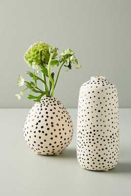 Taiki Dotted Vase - tall - Anthropologie
