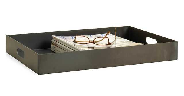 Russell Tray in Natural Steel - Room & Board