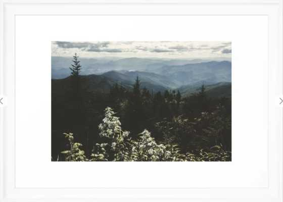Smoky Mountains - Nature Photography Framed Art Print - Society6