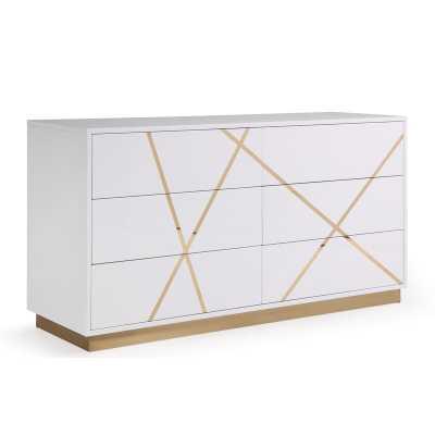 Foti 6 Drawer Dresser - Wayfair