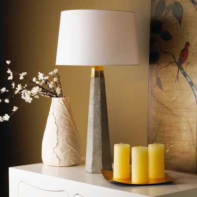 CONCRETE COLUMN TABLE LAMP - Shades of Light