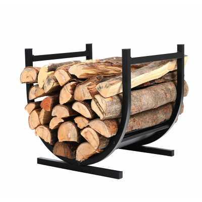 Decorative Indoor/Outdoor Firewood Log Rack - Wayfair