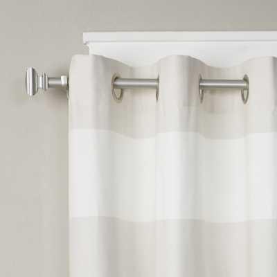 Crawfordville Square Curtain Single Rod - Wayfair