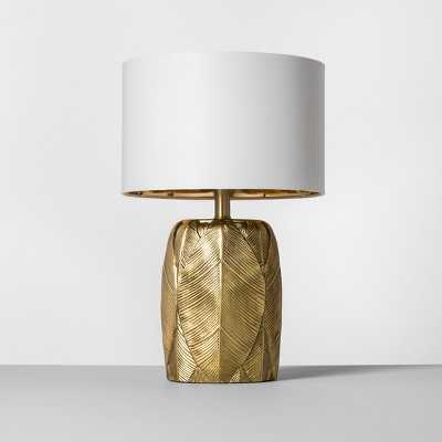 Leaf Table Lamp Gold - Opalhouse™ - with energy efficient light bulb - Target