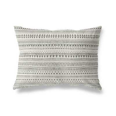 Minerva Throw Pillow, Tan/Gray - Wayfair