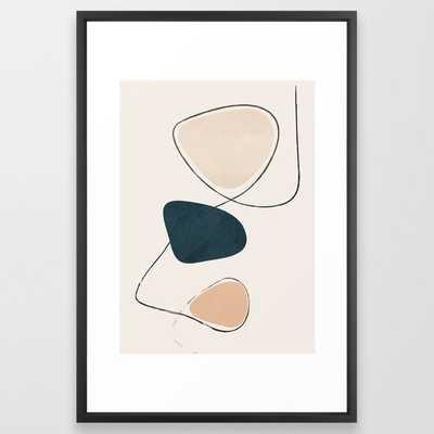Wildline I Framed Art Print - Society6