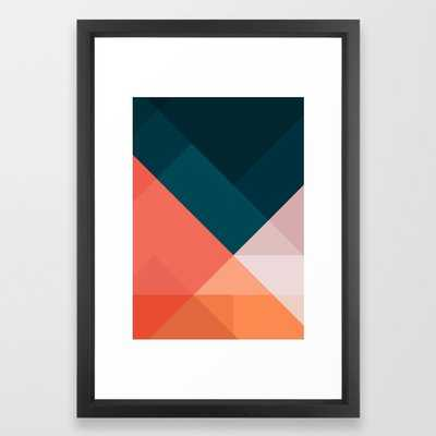 Geometric 1708 Framed Art Print - Society6