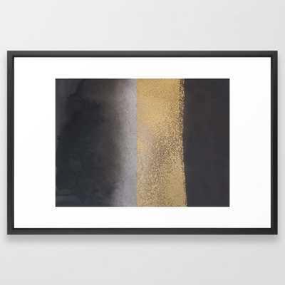 Golden touch5 Framed Art Print - Society6