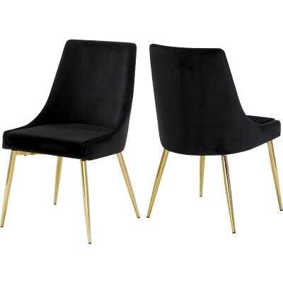Gabrielle Upholstered Dining Chair (Set of 2) - Wayfair