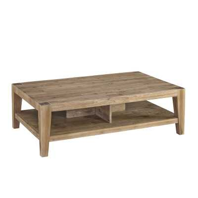 Savannah Solid Wood Coffee Table - Wayfair