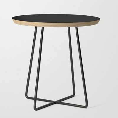 Side Table - Basics - Round Black - Society6