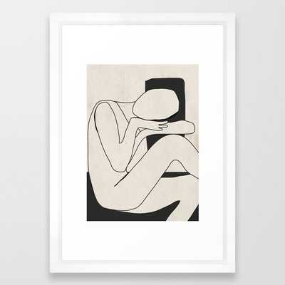 Abstract Art 15 Framed Art Print - Society6
