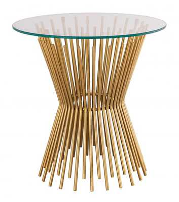 Grace Glass Side Table - Maren Home