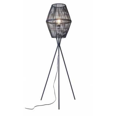 Billie Floor Lamp Black - Zuri Studios