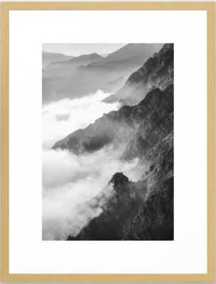 Mountains Framed Art Print // 26x38 // - Society6