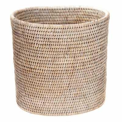 Rattan Waste Basket - Wayfair