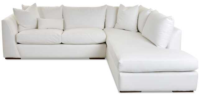 """Alisa 115"""" Sectional Collection/Right Hand Facing (fabric color shown on swatch) - Birch Lane"""