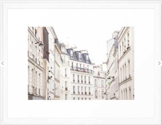 Slightly Paris , Scoop White, 20 X 26 - Society6