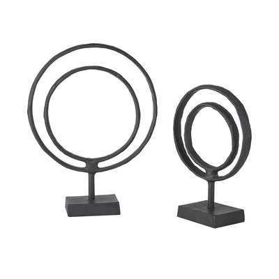 Gwendoline Ring Object Decor Sculpture - Wayfair