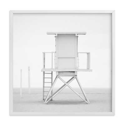 iconic lifeguard tower - Minted