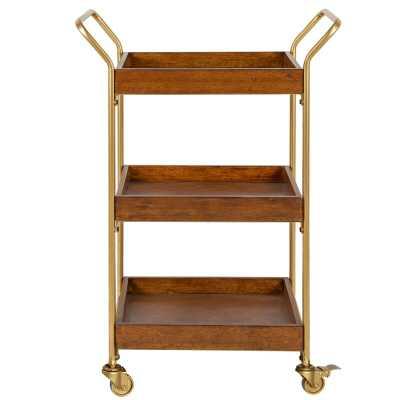 Desouza Mid-Century Bar Cart - Wayfair