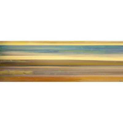 """20"""" H x 60"""" W 'Sand Streaks' by Parvez Taj Wrapped Canvas Print - Wayfair"""
