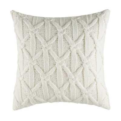 Clearview Knit Throw Pillow - Wayfair