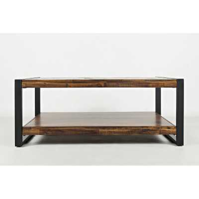 Telfair Sled Coffee Table with Storage - Wayfair