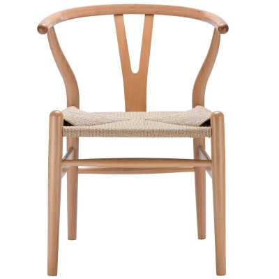 Dayanara Solid Wood Dining Chair, Natural - Wayfair