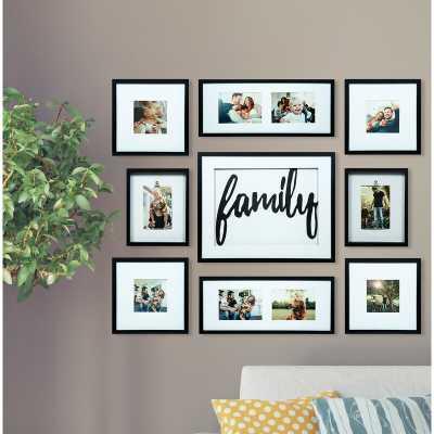 Broderick 8 Piece Family Decor Picture Frame Set - Wayfair