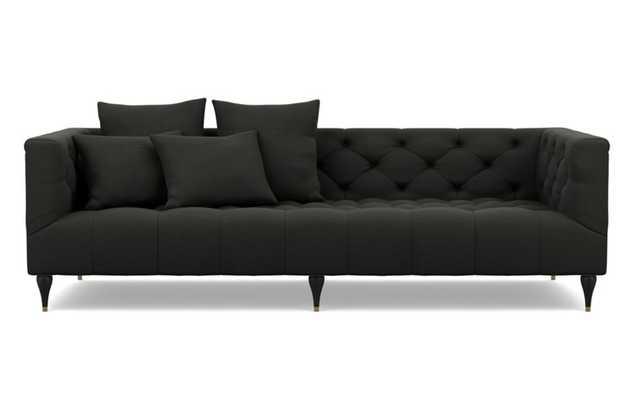 "Ms Chesterfield Custom Sofa (74"") Storm color - Interior Define"
