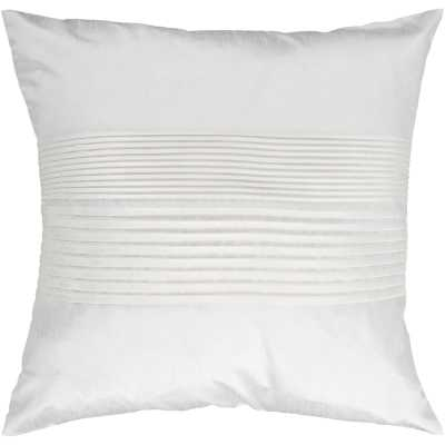 Kadyn Pleated Throw Pillow Cover 22x22 - AllModern