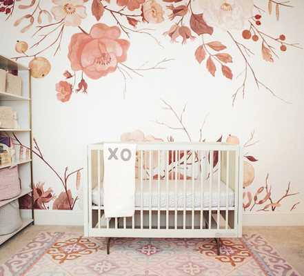 Anewall Autumn Floral Wallpaper - Anthropologie