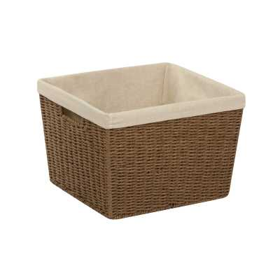 "Wicker Basket 10"" H x 15"" W x 13"" D - Wayfair"