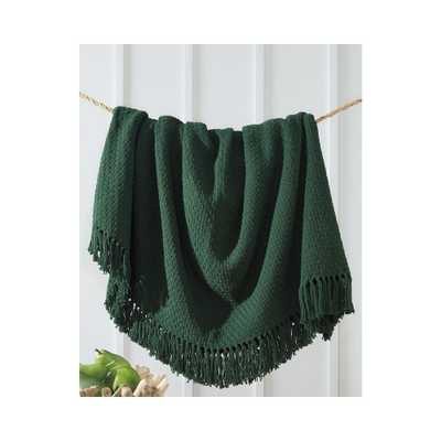 Yasmin Emerald Throw - Overstock