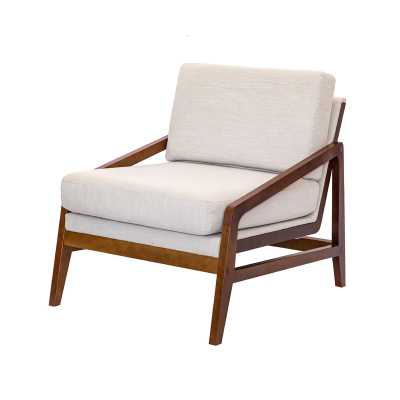 Provincetown Lounge Chair - Linen - Wayfair