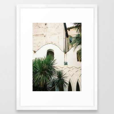 Italian Architecture on the Amalfi coast - Vector White - Society6