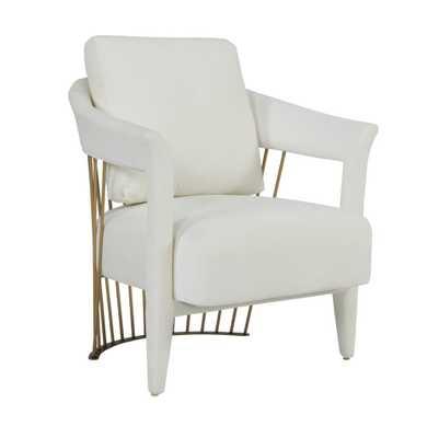 Ainsley Cream Velvet Chair - Maren Home