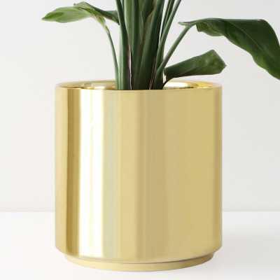 Peach & Pebble Modern Porcelain Pot Plante - Wayfair