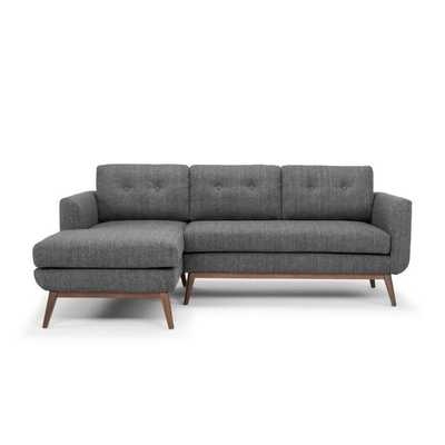 "87.8"" Keating Sofa and Chaise Sectional - Wayfair"