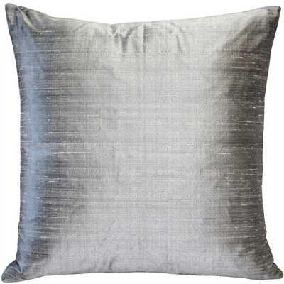 Bradley Silk Throw Pillow - Wayfair