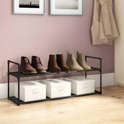 8 Pair Shoe Rack - Wayfair