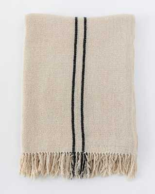 WINSTON SIMPLE STRIPE THROW - McGee & Co.
