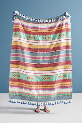 Woven Jemma Throw Blanket - Anthropologie