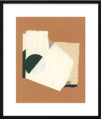 Poco a Poco by Hallie Brewer Black Wood Frame 20x24 - Artfully Walls