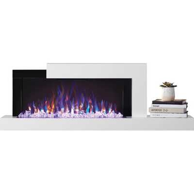 Stylus Wall Mounted Electric Fireplace - Wayfair