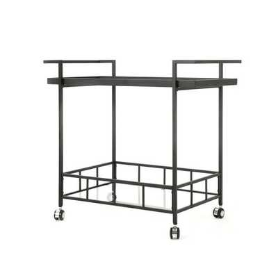 Linde Indoor Bar Cart - Wayfair